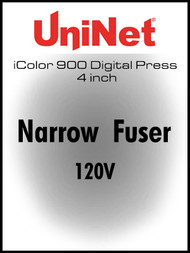 iColor 900 Digital press 4 inch Narrow Fuser 120V
