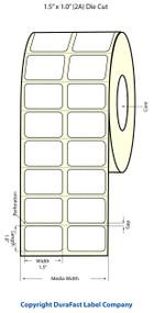 Epson 1.5 x 1 Chemical Labels for TM-C3400 & TM-C3500