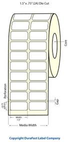 """Epson 1.5"""" x 0.75"""" High Gloss Label for TM-C3400 & TM-C3500"""