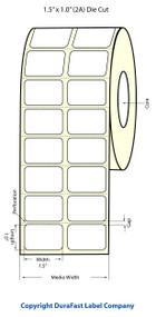 Epson 1.5 x 1 Matte Labels for TM-C3400 & TM-C3500