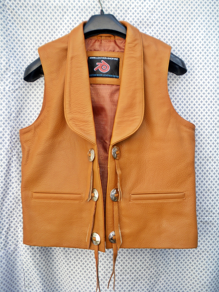 Mens Leather Jackets Western Style