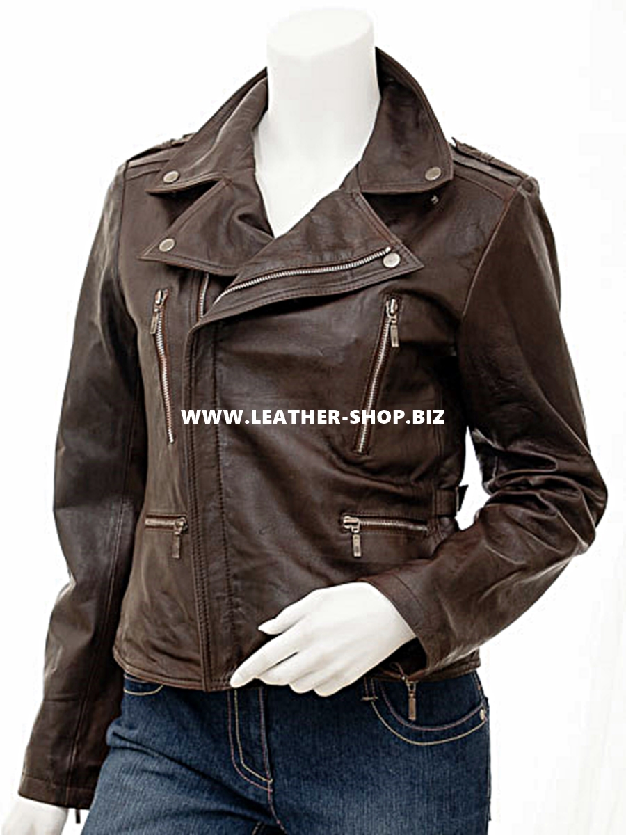 ladies-leather-jacket-custom-made-biker-style-llj616-brown-www.leather-shop.biz-front-pic.jpg