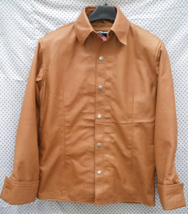 mens-lambskin-leather-shirt-ls060-light-brown-with-french-cuffs-front-pic.jpg