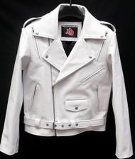 Leather Jacket Biker Style MLJ116 Custom Made In 8 Colors