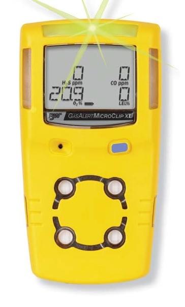 BW GasAlert MicroClip XL Multi Gas Detector