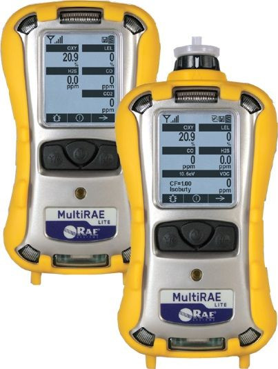Rae Multirae Lite 6 Gas Monitor Models Pgm 6208 And Pgm