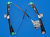 Right (Passenger) Front Power Window Regulator and Motor for the 2000-2002 Lincoln LS.