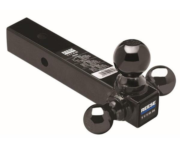 "45325 --- 2-1/2"" Ball Mount, Tri-Ball Combination 1-7/8"", 2"" and 2-5-16""  welded Black Hitch Balls, 10,000 lb maximum Capacity"