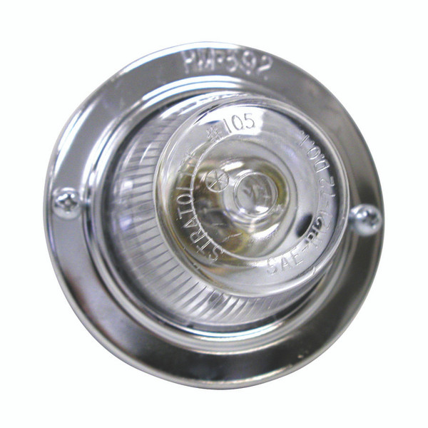 392C --- Round Clear Back-Up Light