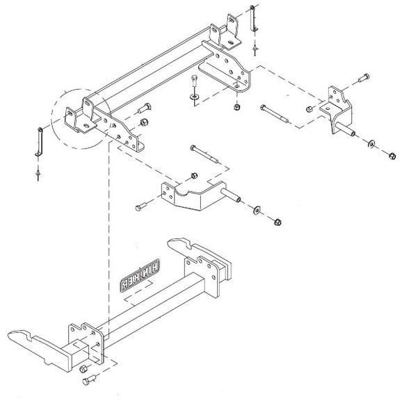 HN25012815 --- Hiniker Quick-Hitch Plow Mount Kit for Chevy/GMC 2500 on wire antenna, wire holder, wire cap, wire lamp, wire sleeve, wire ball, wire nut, wire connector, wire clothing, wire leads,