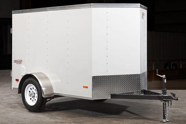 SC58SA --- 5' X 8' Enclosed Trailer with Single Rear Door - Bravo