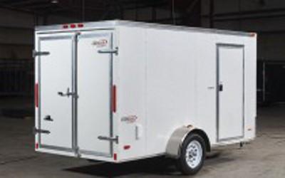 SC610SAD --- 6u0027 X 10u0027 Enclosed Trailer with Double Rear Doors - & SC610SADGT --- 6u0027 X 10u0027 Enclosed Trailer with Double Rear Doors ...