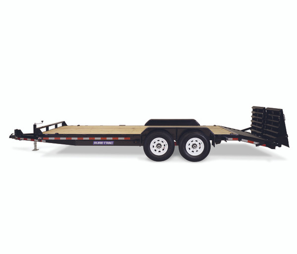 """STIM8118TA5UR --- 81-1/4""""x18' Implement Trailer with Universal Ramps"""