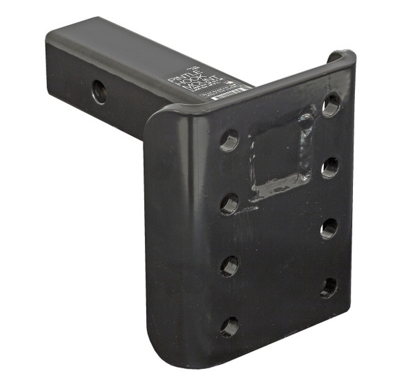 PM90 --- Receiver Mounted Pintle Hook Adapter - 8 Holes - 17,000 lb Capacity