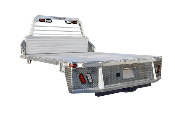"""DR1129734CC --- Duramg Aluminum Truck Bed - 11'2"""" X 97"""" - Cab/Chassis"""