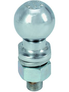"HF2 --- 2"" Hitch Ball, 3,500 lb Capacity, Zinc Finish"