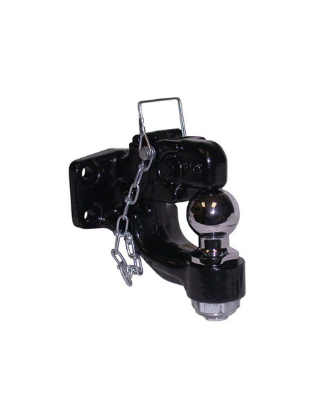 """DPH2000 --- Pintle Hook Combination with 2"""" Hitch Ball - 16,000 lb Capacity"""