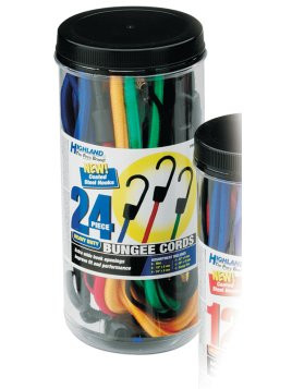 9008400 --- Highland® Heavy Duty Bungee Cords - 24 Piece