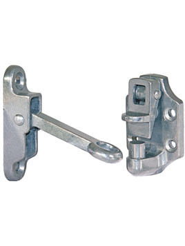DH304 --- Hook \u0026 Keeper Door Holder 4\ - Spring Loaded - Croft Trailer Supply  sc 1 st  Croft Trailer Supply & DH304 --- Hook \u0026 Keeper Door Holder 4\