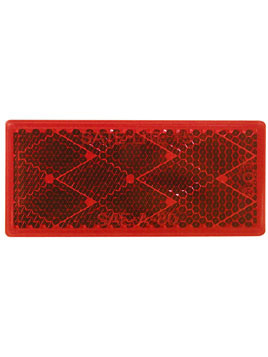483R --- Rectangular Red Reflector - Quick Mount
