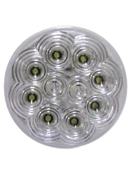"LED415 --- LED Round 4"" Utility Light - 10 Diodes"