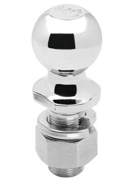 "63840 --- 2-5/16"" Hitch Ball, 20,000 lb Capacity, Chrome Finish"