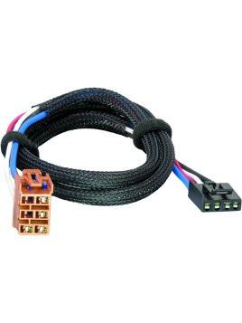 3025 tekonsha draw tite brake control dual plug wiring harness rh crofttrailer com tekonsha wiring harness for 2011 chevy tahoe tekonsha wiring harness problems