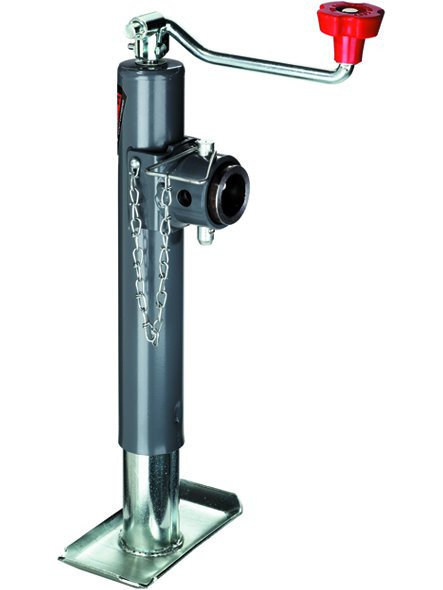 178112 --- BULLDOG Swivel Topwind Trailer Jack with Disc Foot - 7,000 lb Capacity