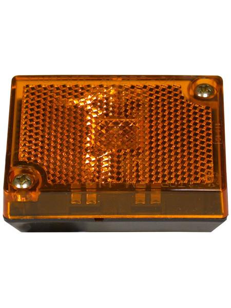 114A --- Rectangular Clearance/Side Marker Light with Reflex