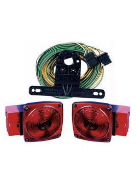 """544 --- Submersible Rear Trailer Light Kit - For Over 80"""" Wide Trailers"""