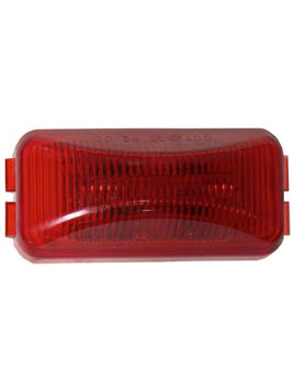 LED153R2 --- Rectangular Sealed LED Clearance/Side Marker Light - 2 Diodes