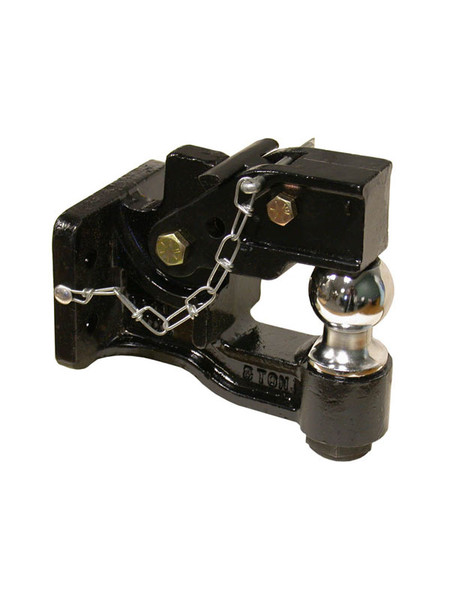 """K300 --- Multi-Hitch Pintle Hook Combination with 2-5/16"""" Hitch Ball - 16,000 lb Capacity"""