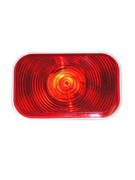 "450R --- Retangular 3"" x 5"" Sealed Light - Red"