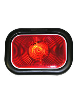 "450KR --- Retangular 3"" x 5"" Sealed Light Kit- Red"