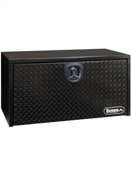 "UTBS36-BTP --- Underbody Tool Box w/Diamond Tread Door -  Steel 18""x18""x36"""