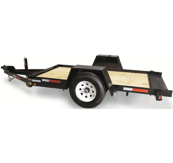 CT6012TSA4HY --- 6' x 12' Pan Tilt-Bed with Hydraulic Brakes