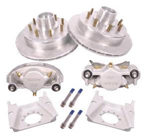 """2/HRCM-13-KIT --- 13"""" Kodiak Disc Brake Kit for 7,000 lb axles - 8 on 6-1/2"""" - Pair"""