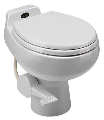 Sealand Dometic 548 Series Vacuum Toilet White