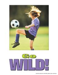 Go Wild Soccer Poster
