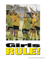 Girls Rule!- Kids Poster