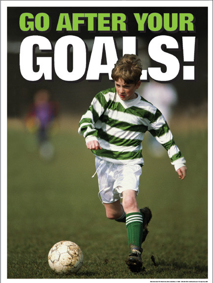 Go After Your Goals Poster