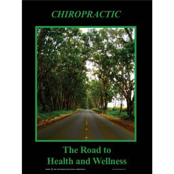 Road To Health And Wellness Poster Clinical Charts And