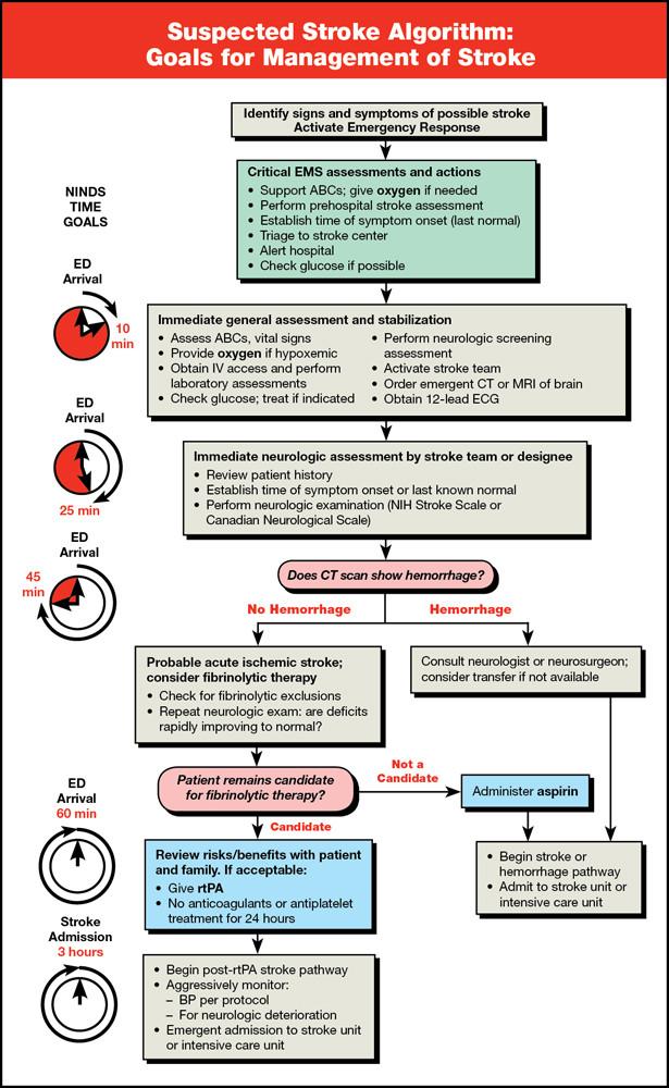 Management pediatric stroke