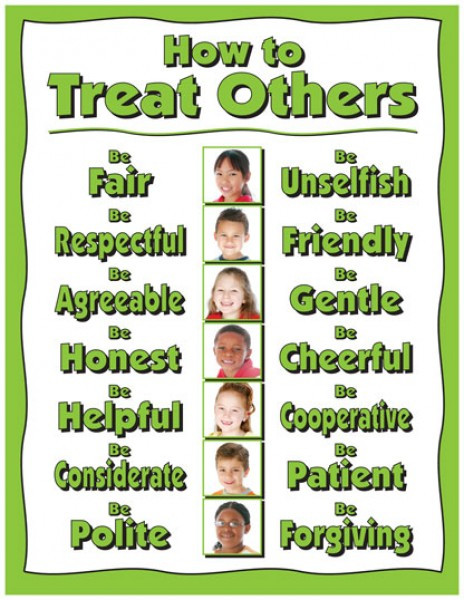 Treat Others Good Poster