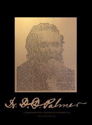 D.D. Palmer poster