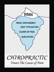 Chiropractic Iceberg Poster