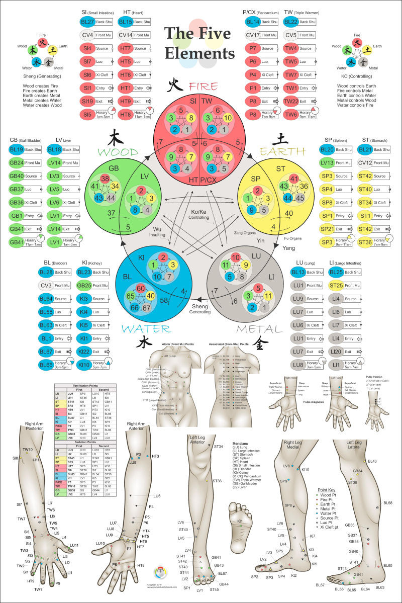 Five Elements of Acupuncture Points 2nd ed. - Clinical ...