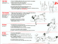 Range of Motion Anatomy Charts (Upper Body and Lower Body)