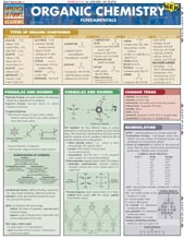 Organic Chemistry Fundamentals Chart