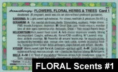 Flowers and Floral Scents Card